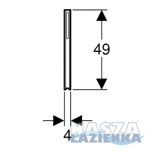 GEBERIT Zestaw nóg montażowych Kombifix