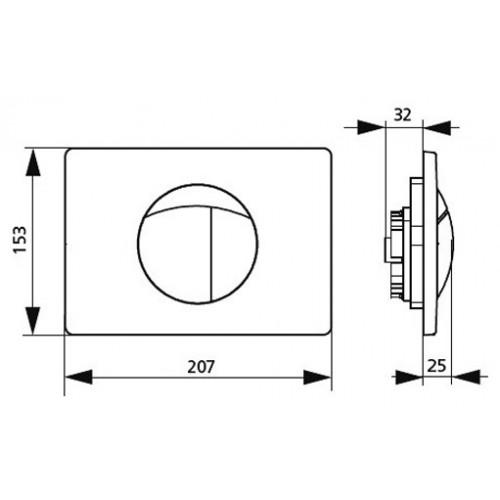 SANIT Przycisk S701