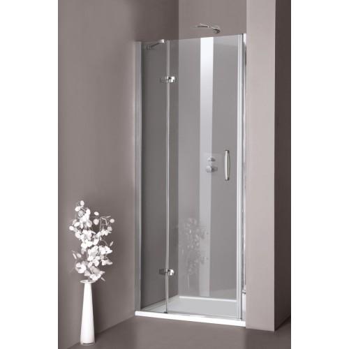 Hüppe Aura elegance drzwi skrzydłowe lewe 90cm do wnęki 400102.087.321
