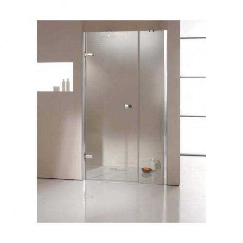 Hüppe Enjoy Elegance drzwi skrzydłowe z częścią boczną do wnęki 100 cm 3T3103.092.321