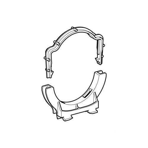 GEBERIT Uchwyt rury odpływowej o średnicy 11cm