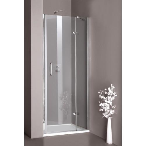 Hüppe Aura elegance drzwi skrzydłowe 90cm prawe 400202.087.321