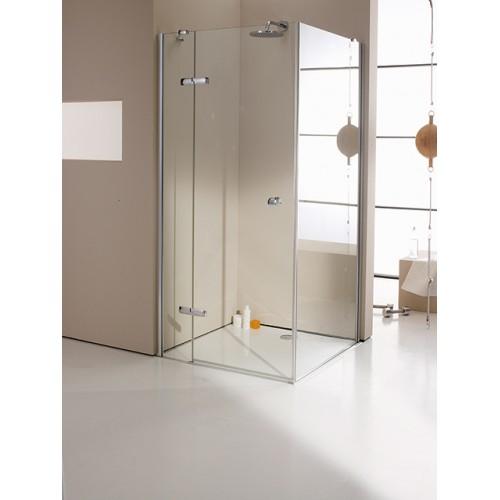 Hüppe Enjoy Elegance drzwi skrzydłowe ze stałym segmentem 90 cm 3T0108.055.322